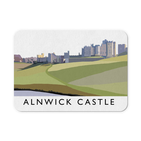 Alnwick Castle, Northumberland Mouse Mat