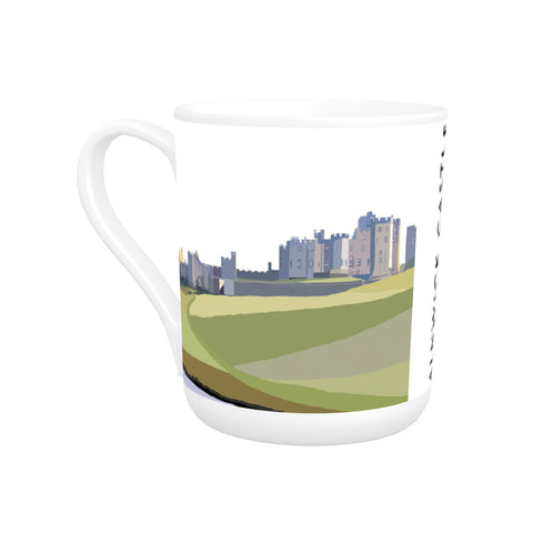 Alnwick Castle, Northumberland Bone China Mug