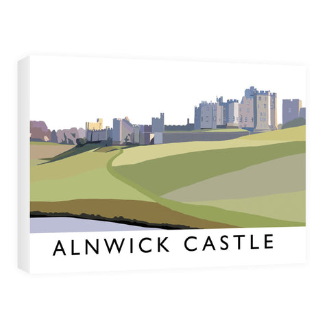 Alnwick Castle, Northumberland Canvas