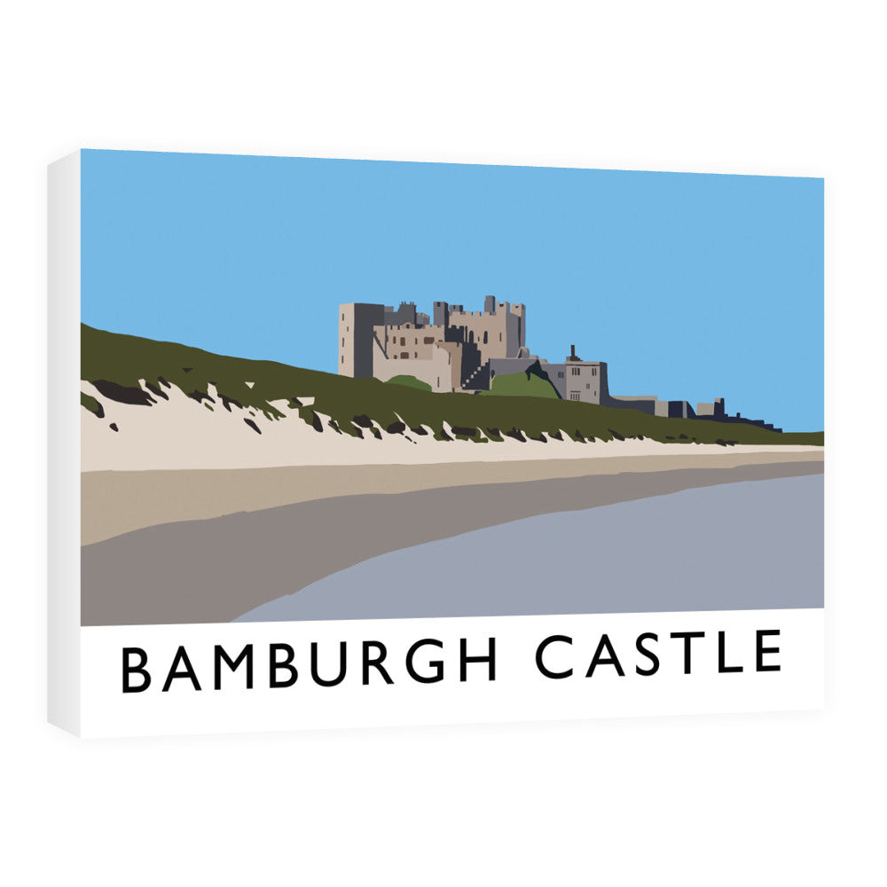 Bamburgh Castle, Northumberland Canvas