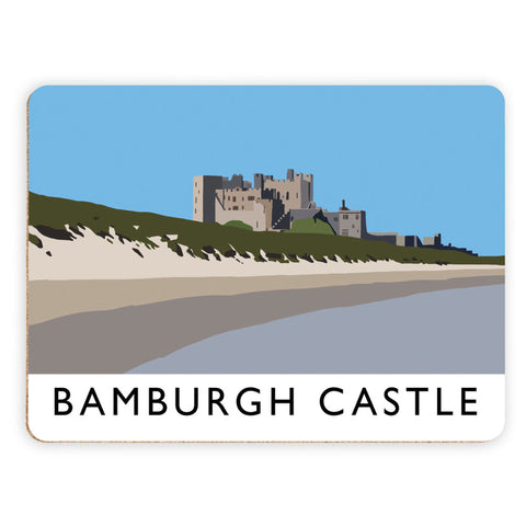 Bamburgh Castle, Northumberland Placemat