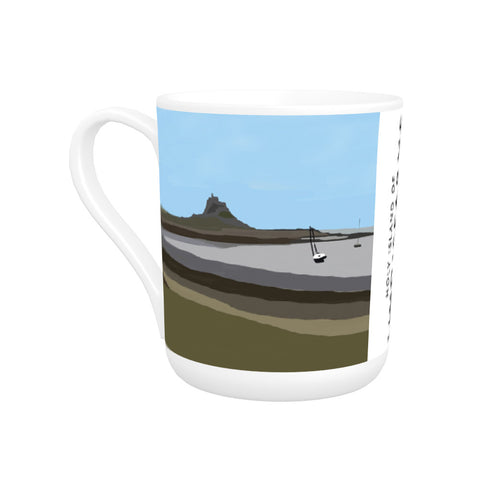 The Holy Island of Lindisfarne Bone China Mug