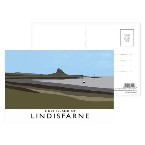The Holy Island of Lindisfarne Postcard Pack