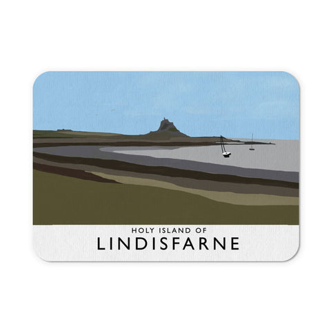 The Holy Island of Lindisfarne Mouse Mat