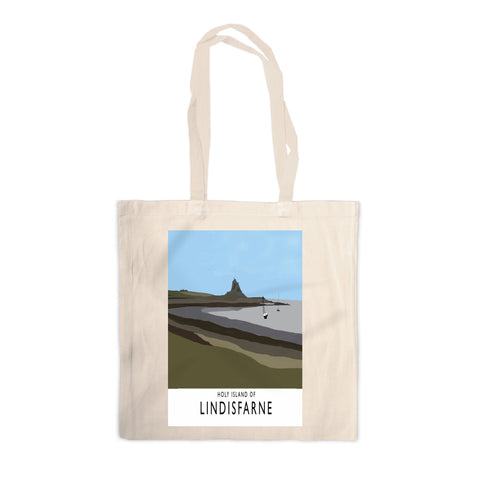 The Holy Island of Lindisfarne Canvas Tote Bag