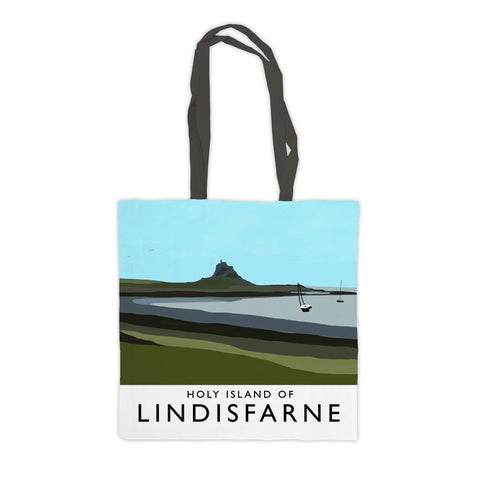 The Holy Island of Lindisfarne Premium Tote Bag