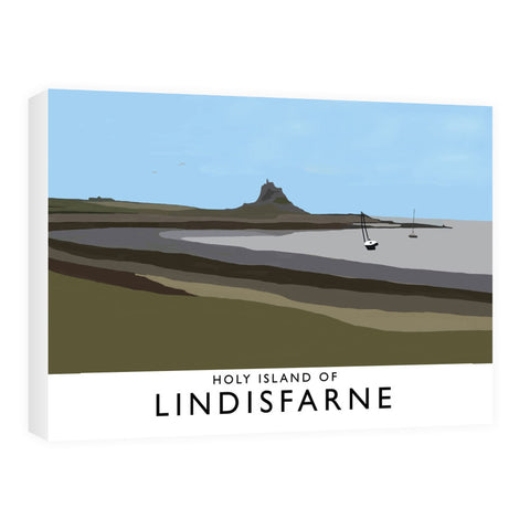 The Holy Island of Lindisfarne Canvas