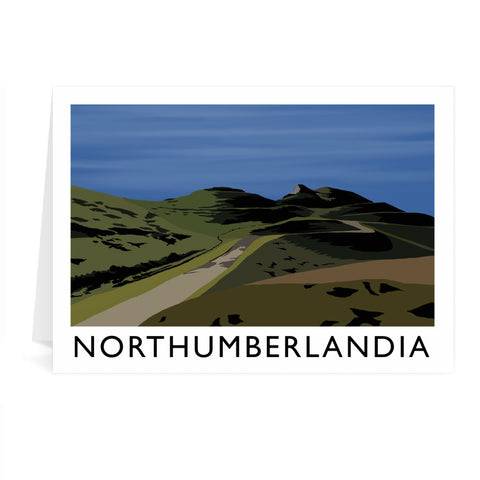 Northumberlandia Greeting Card 7x5