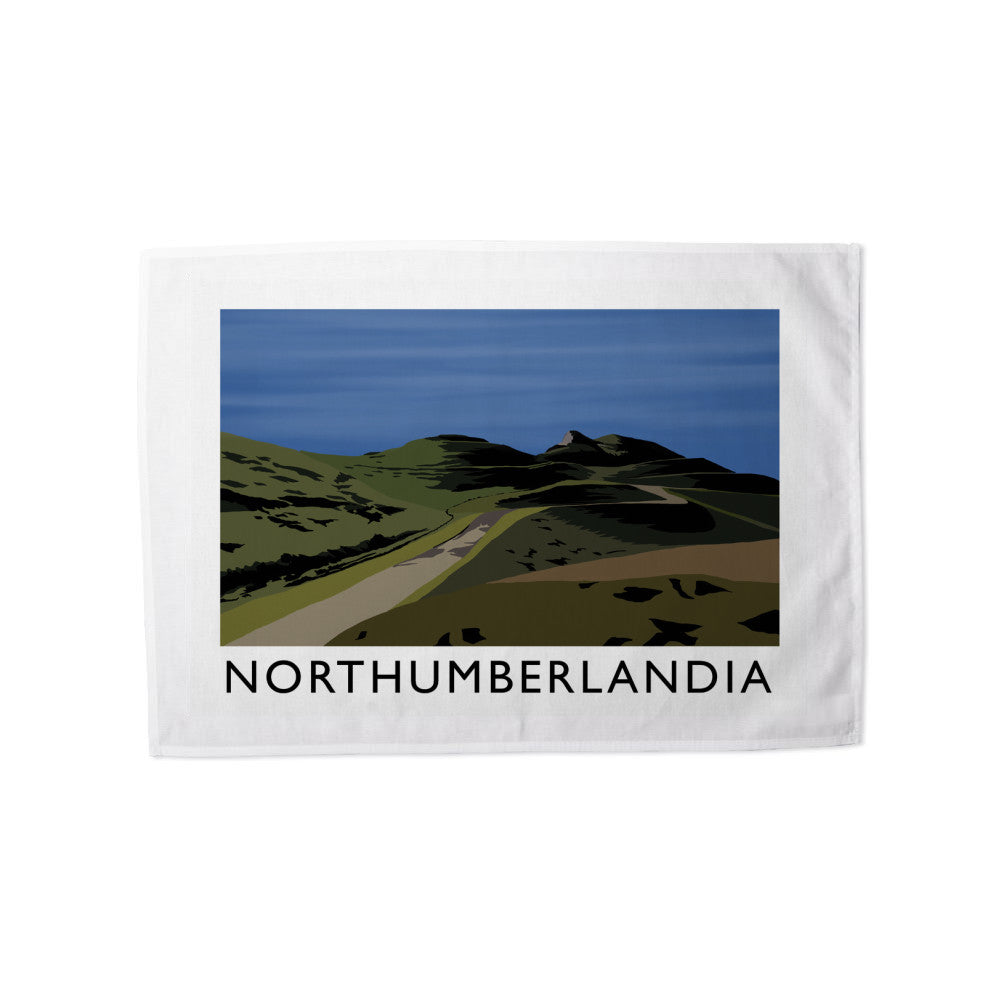 Northumberlandia Tea Towel