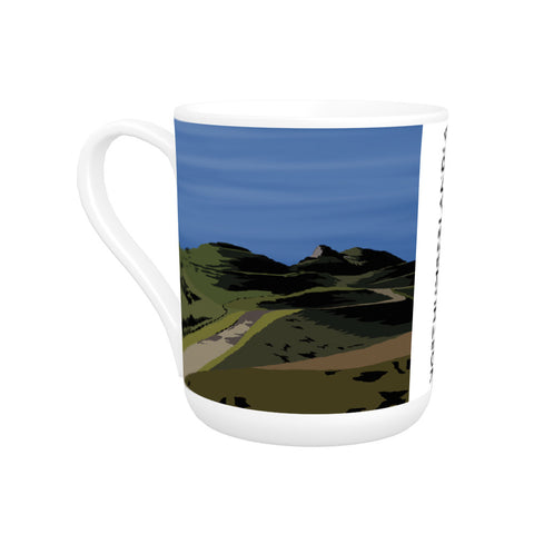 Northumberlandia Bone China Mug