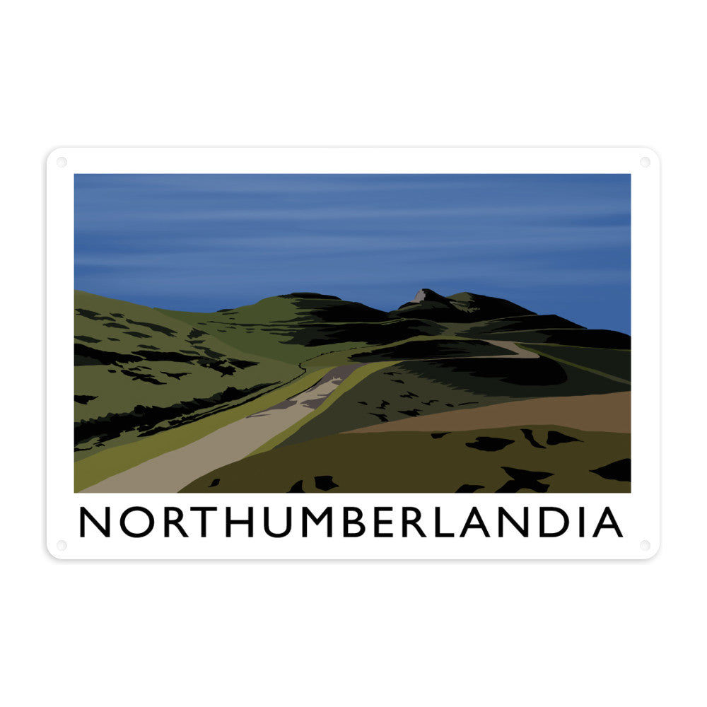 Northumberlandia Metal Sign