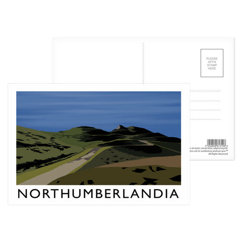 Northumberlandia Postcard Pack