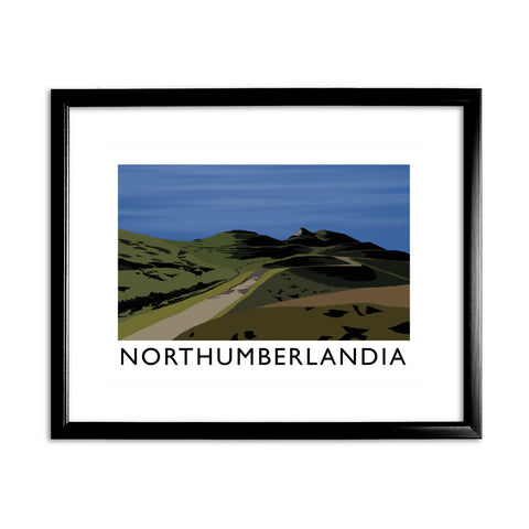 Northumberlandia 11x14 Framed Print (Black)