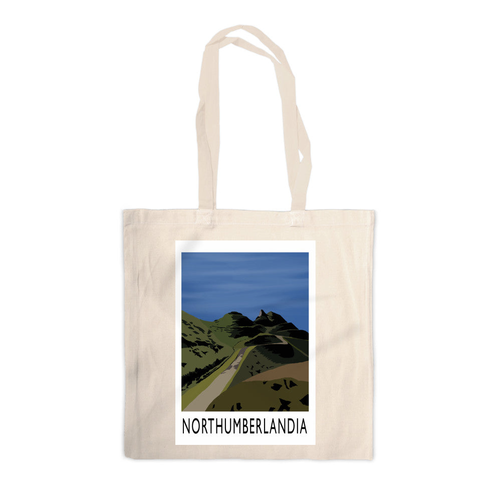 Northumberlandia Canvas Tote Bag
