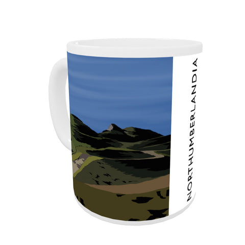 Northumberlandia Coloured Insert Mug