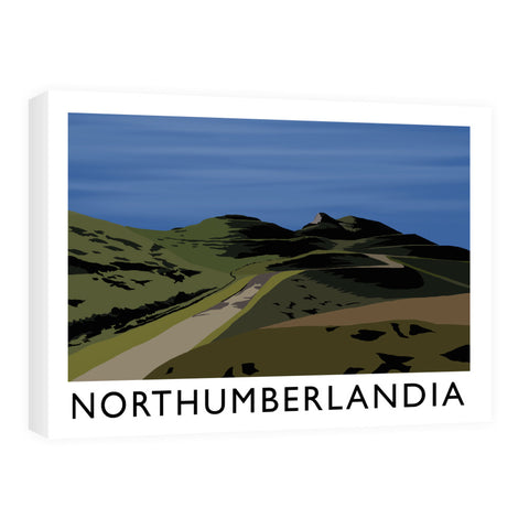 Northumberlandia Canvas