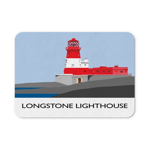 Longstone Lighthouse, Northumberland Mouse Mat