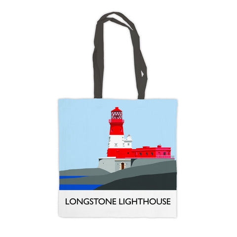 Longstone Lighthouse, Northumberland Premium Tote Bag