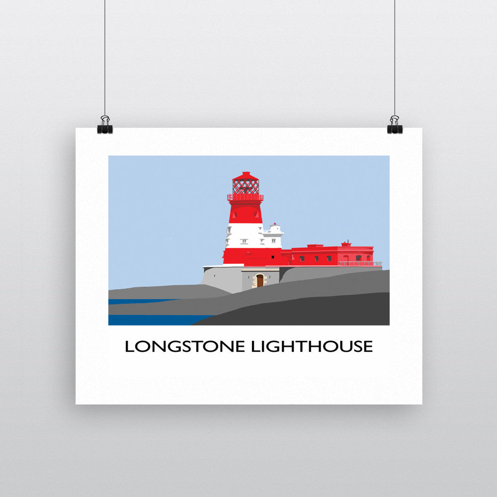 Longstone Lighthouse, Northumberland Fine Art Print