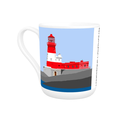 Longstone Lighthouse, Northumberland Bone China Mug