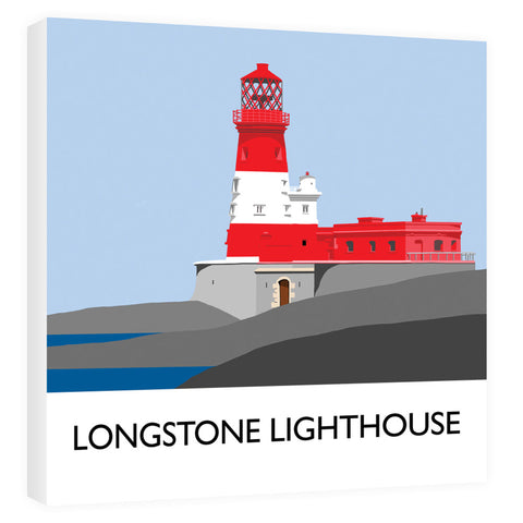 Longstone Lighthouse, Northumberland Canvas
