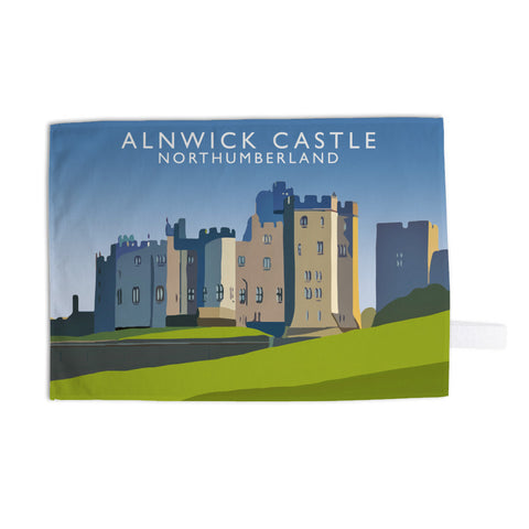 Alnwick Castle, Northumberland Tea Towel