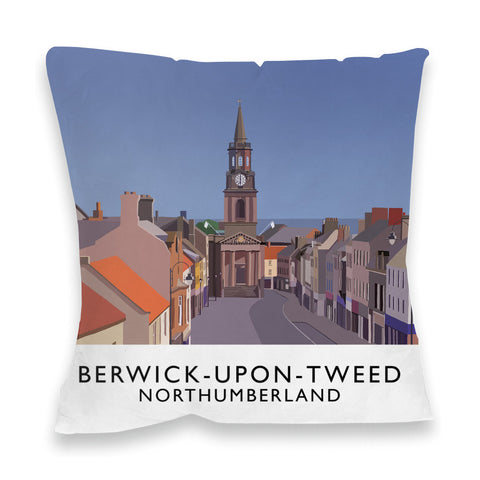 Berwick-Upon-Tweed, Northumberland Fibre Filled Cushion