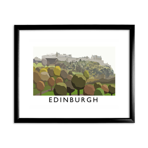 Edinburgh, Scotland 11x14 Framed Print (Black)
