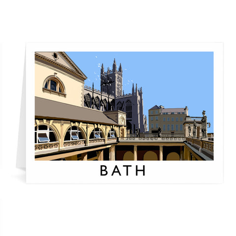 Bath Greeting Card 7x5