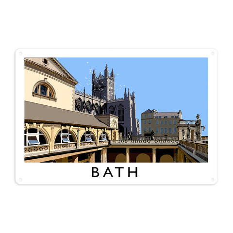 Bath Metal Sign
