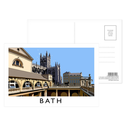 Bath Postcard Pack