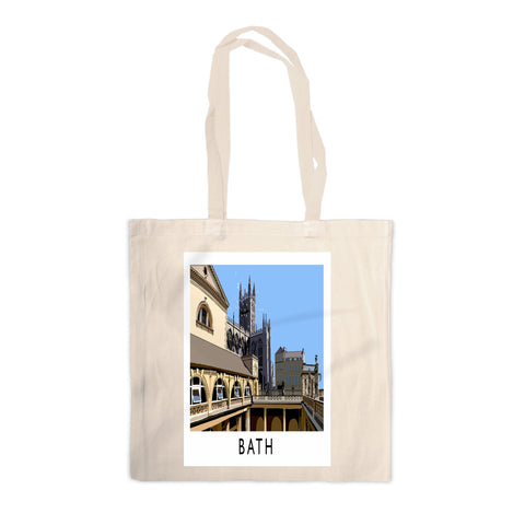 Bath Canvas Tote Bag
