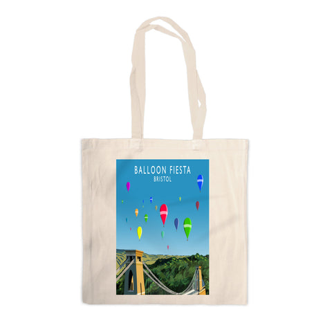 Balloon Fiesta, Bristol Canvas Tote Bag