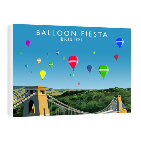 Balloon Fiesta, Bristol 60cm x 80cm Canvas