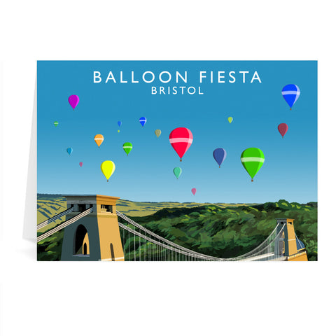 Balloon Fiesta, Bristol Greeting Card 7x5