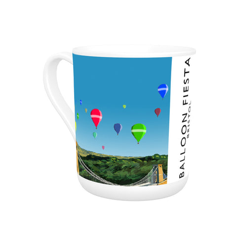 Balloon Fiesta, Bristol Bone China Mug
