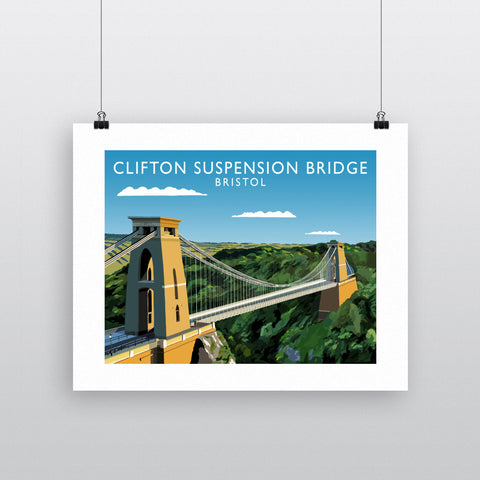 Clifton Suspension Bridge, Bristol 90x120cm Fine Art Print