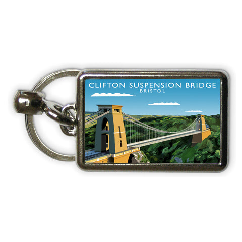 Clifton Suspension Bridge, Bristol Metal Keyring
