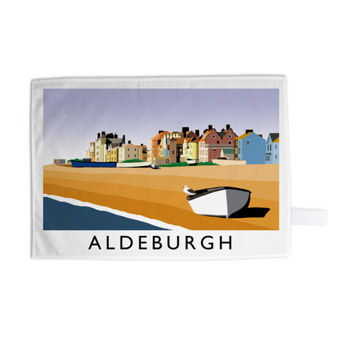 Aldeburgh, Suffolk Tea Towel