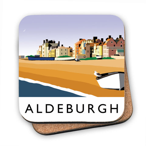 Aldeburgh, Suffolk MDF Coaster