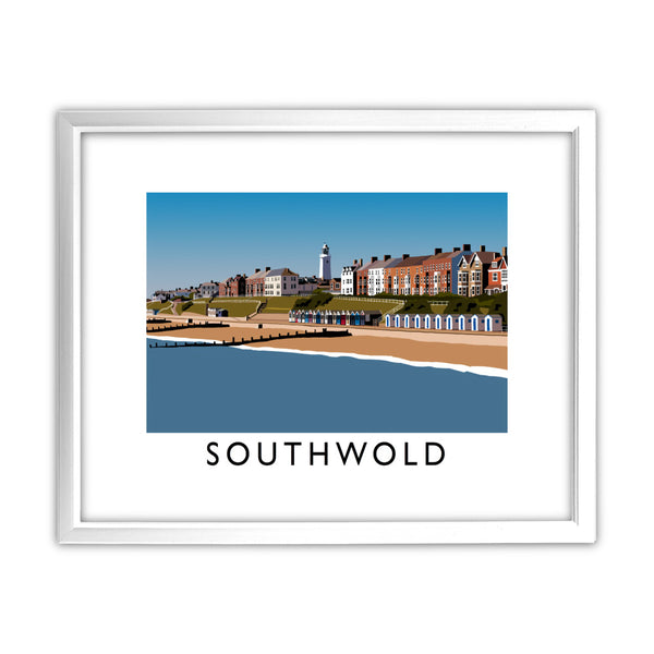 Southwald, Suffolk 11x14 Framed Print (White)