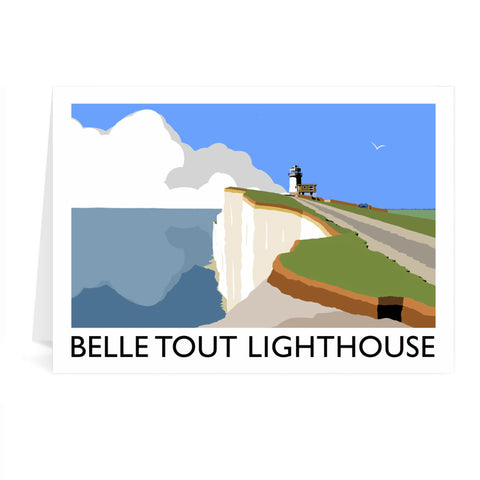 Belle Tout Lighthouse, Sussex Greeting Card 7x5