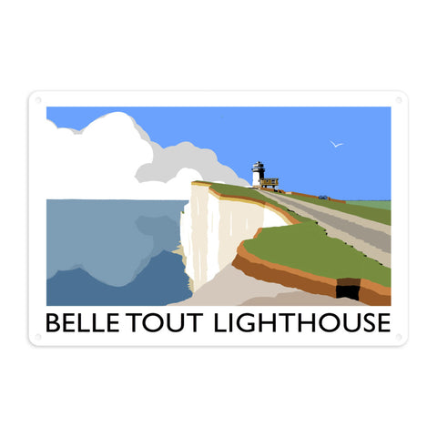 Belle Tout Lighthouse, Sussex Metal Sign