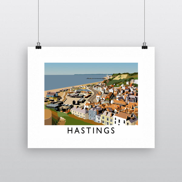 Hastings, Sussex 11x14 Print