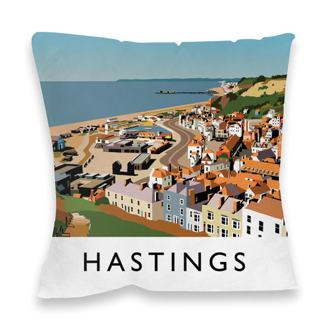 Hastings, Sussex Fibre Filled Cushion