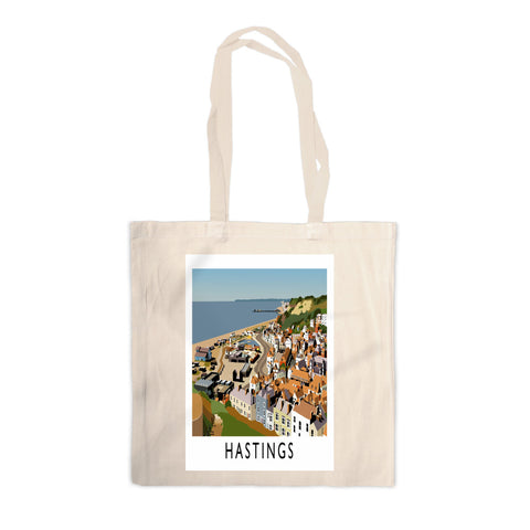 Hastings, Sussex Canvas Tote Bag