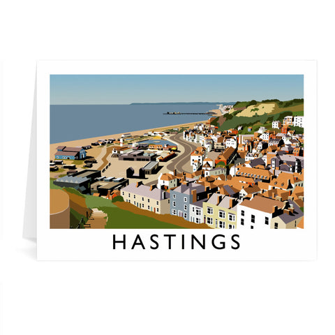 Hastings, Sussex Greeting Card 7x5