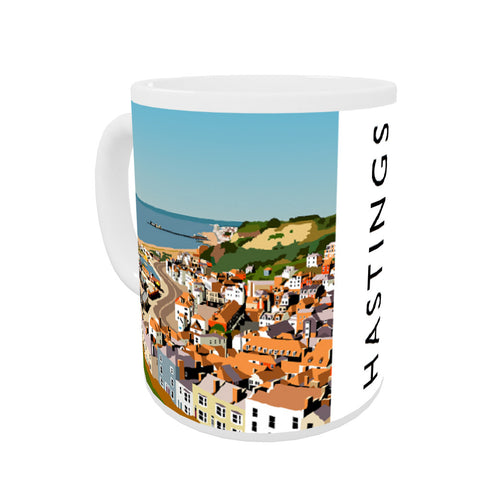 Hastings, Sussex Coloured Insert Mug