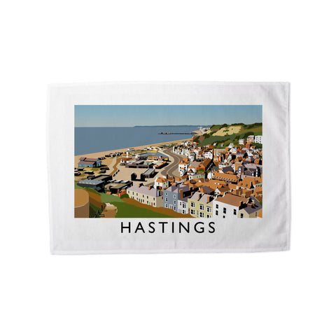 Hastings, Sussex Tea Towel