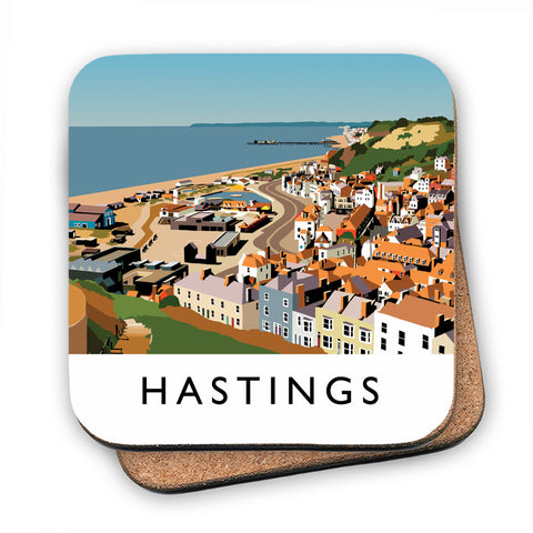 Hastings, Sussex MDF Coaster